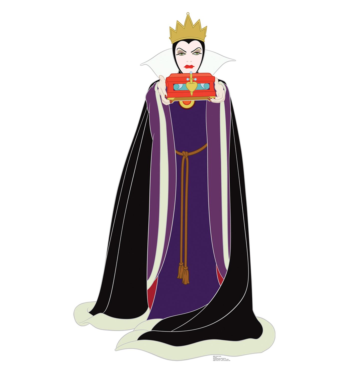 Evil queen clipart silhouette clipground - Evil queen disney ...