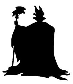 Maleficent Evil Queen Silhouette Decal by NerdVinyl on Etsy.