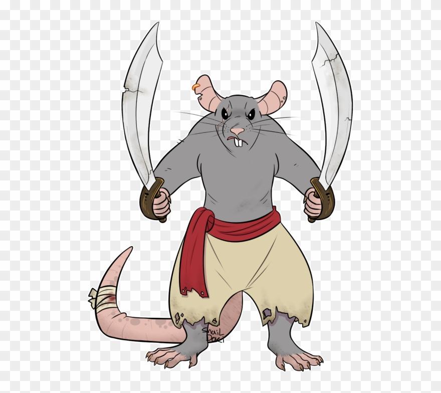 com] Bad Rat Clipart (#3118219).