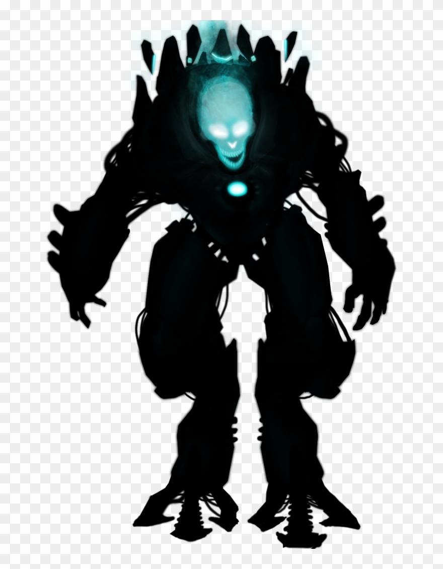 Evil Robot Png.