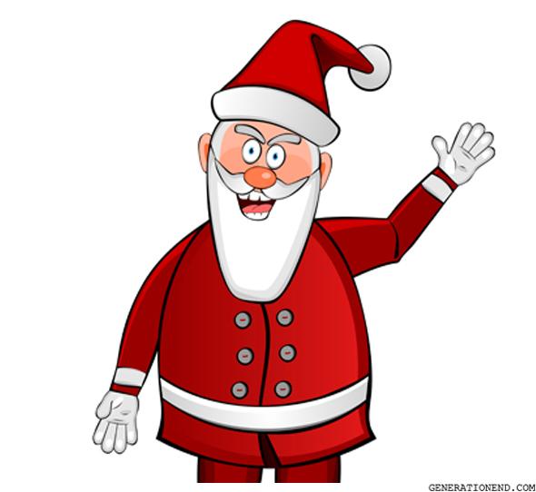 Evil Santa Claus Generation End.