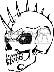 scary skulls images.