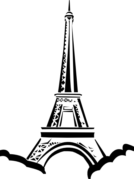 Eiffel Tower Clip Art at Clker.com.