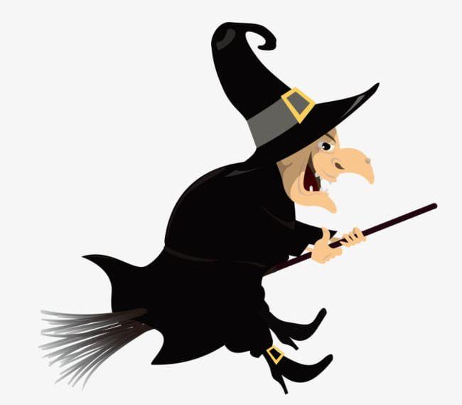 Evil Witch PNG, Clipart, Broom, Cartoon, Cartoon Hand.