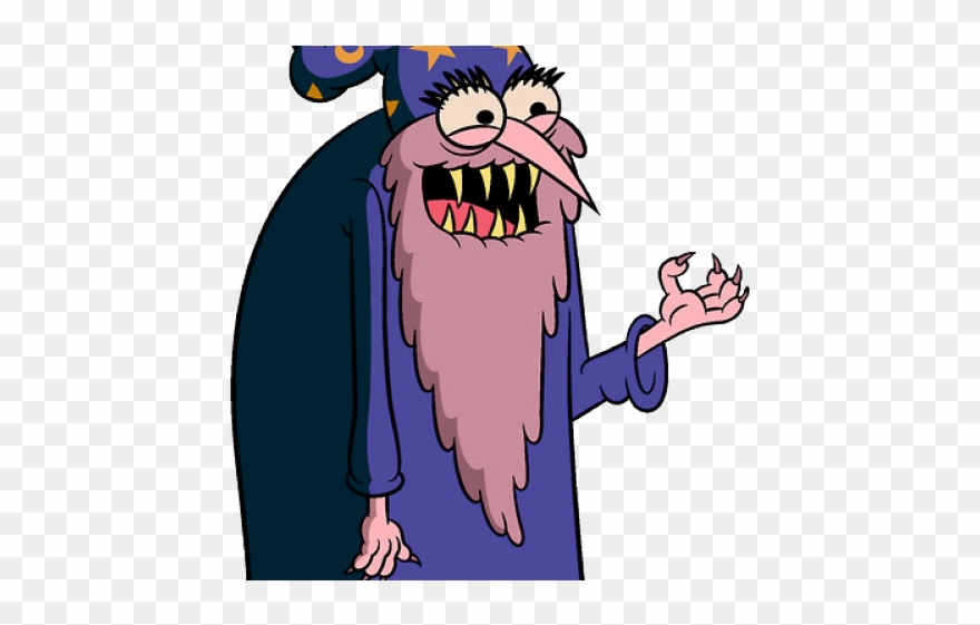 Wizard Clipart Scary.
