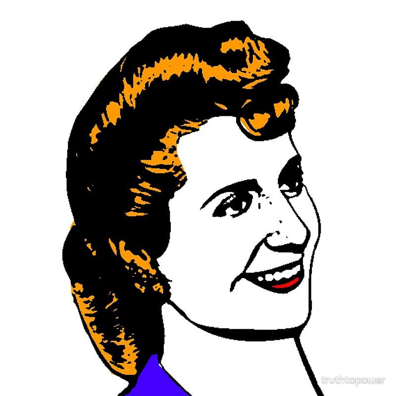 """Eva """"Evita"""" Perón."""