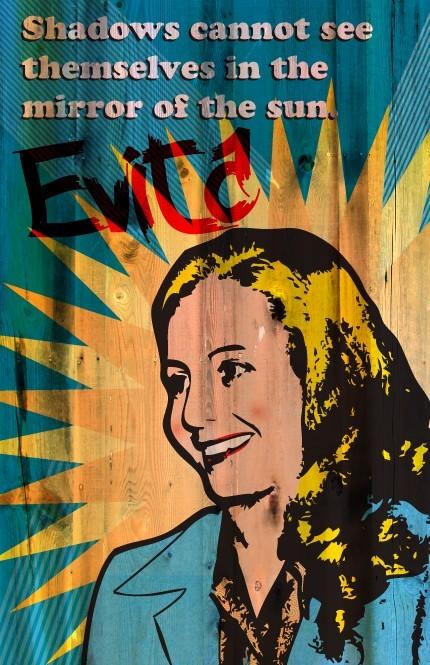 Eva Peron Print 11x17 Famous Seniors by senioritis on Etsy.
