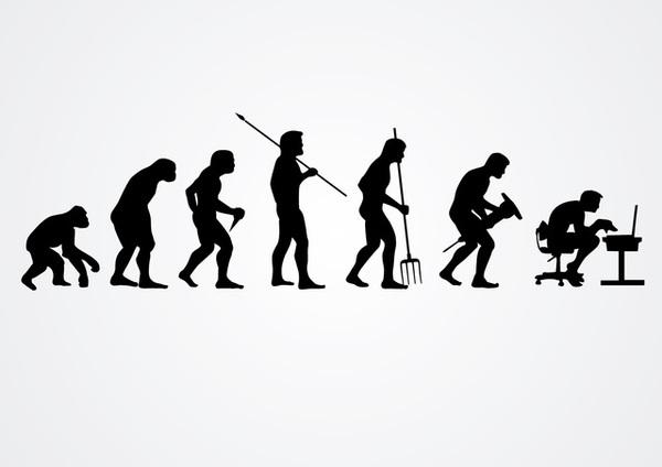 Evolution Clipart.