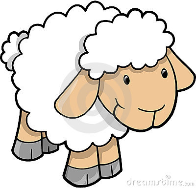 Ewe Stock Illustrations.