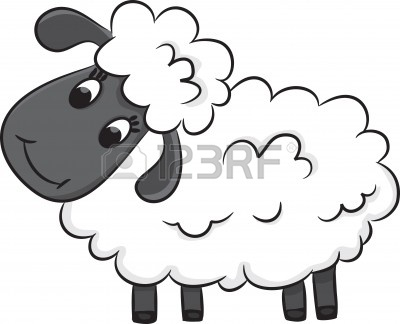 Gallery For > Two Ewes Clipart.