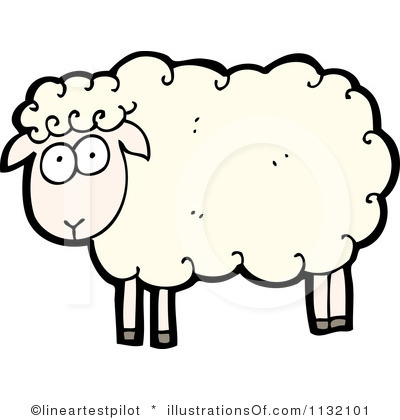 Black Sheep Clipart.