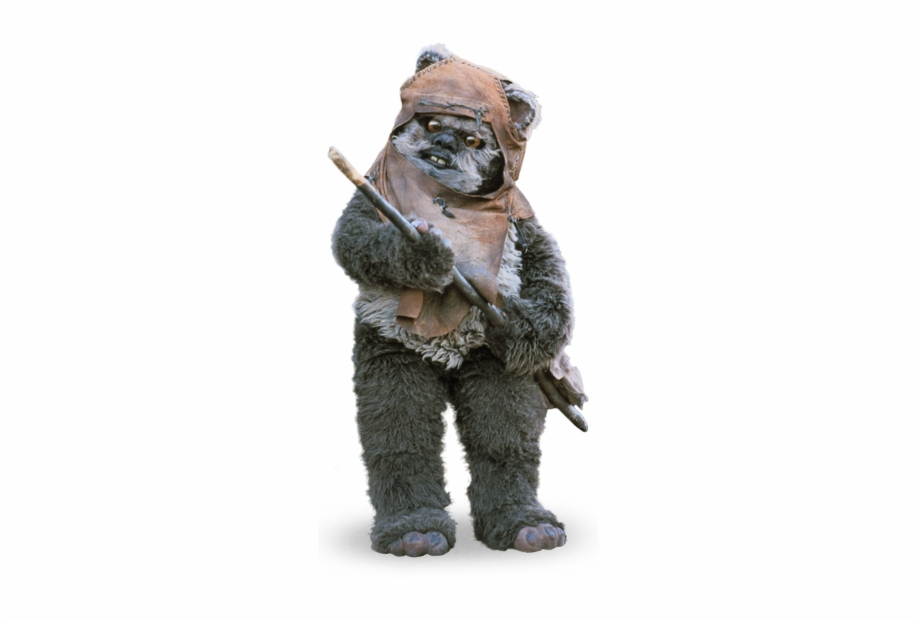 Ewok Sticker.