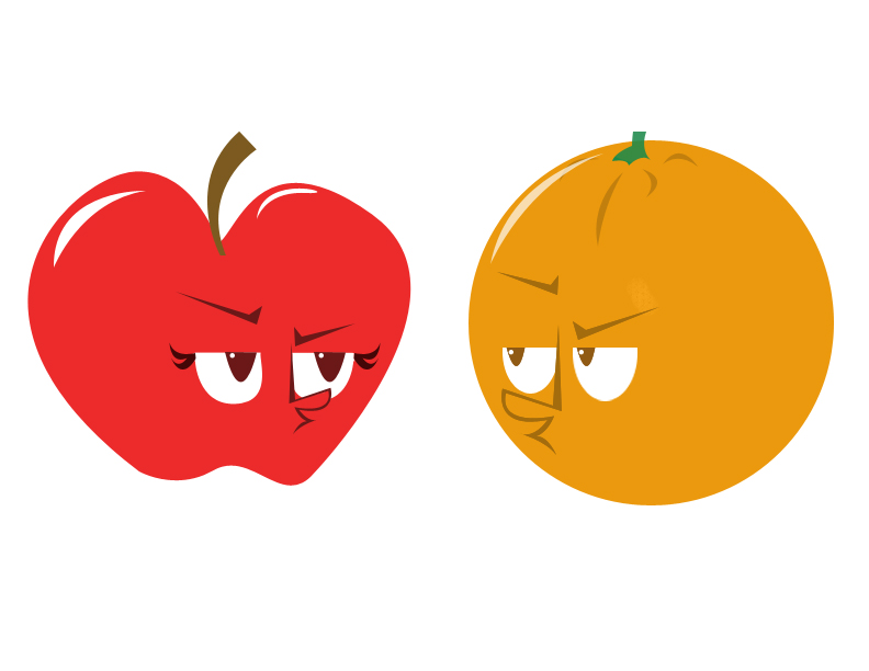 Cartoon Pictures Of Apples.
