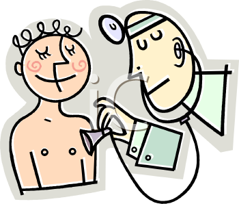 Physical Examination Clipart.