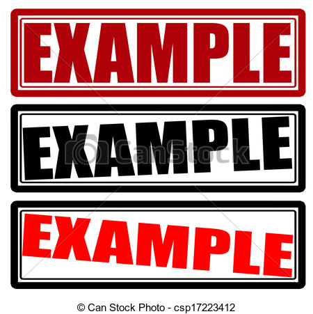 Example Vector Clipart Royalty Free. 3,963 Example clip art vector.