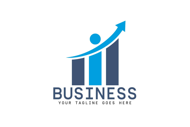 Business Logo Design. Progress and Success logo..
