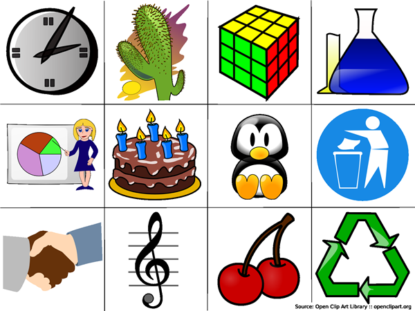 20 Examples of Clip Art.