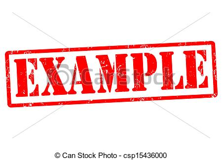 Clipart example.