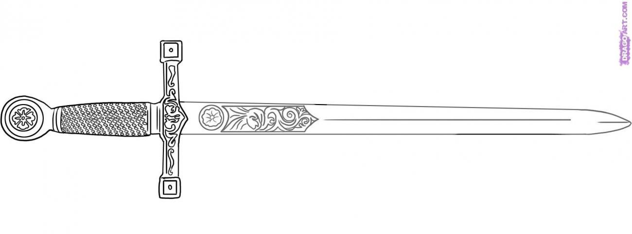 Excalibur clipart.