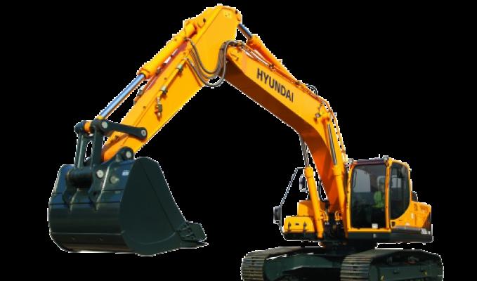 Excavadora Png Vector, Clipart, PSD.