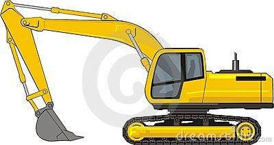 Excavate Stock Illustrations.