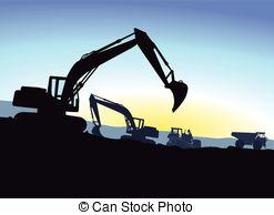 Excavator Vector Clipart EPS Images. 4,236 Excavator clip art.