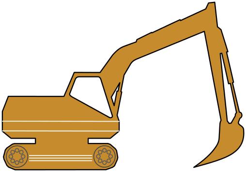 Excavator Clip Art Download.