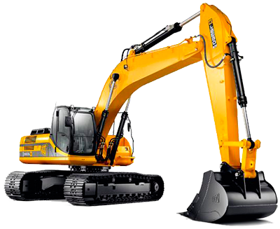 Excavator PNG images.