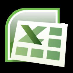 Excel clipart transparent.