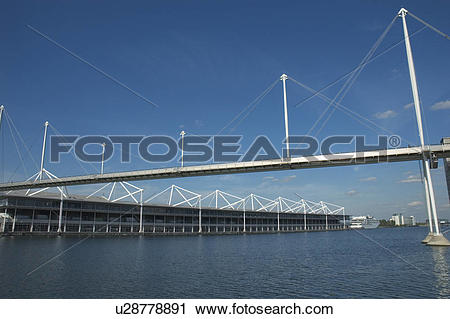 Stock Photography of England, London, Docklands, The Excel.