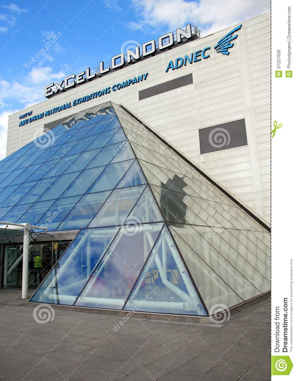 Excel Exhibition Centre London Editorial Photo.