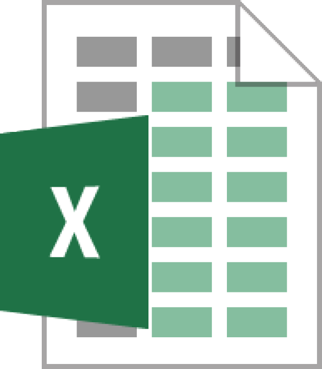Excel Logo clipart.