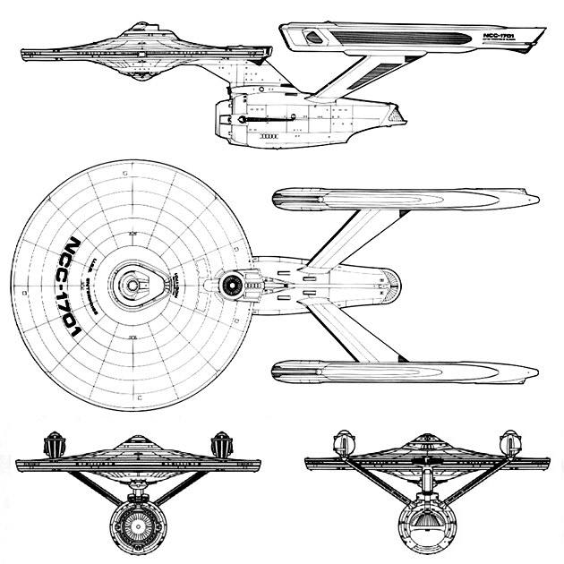 Uss enterprise clipart.