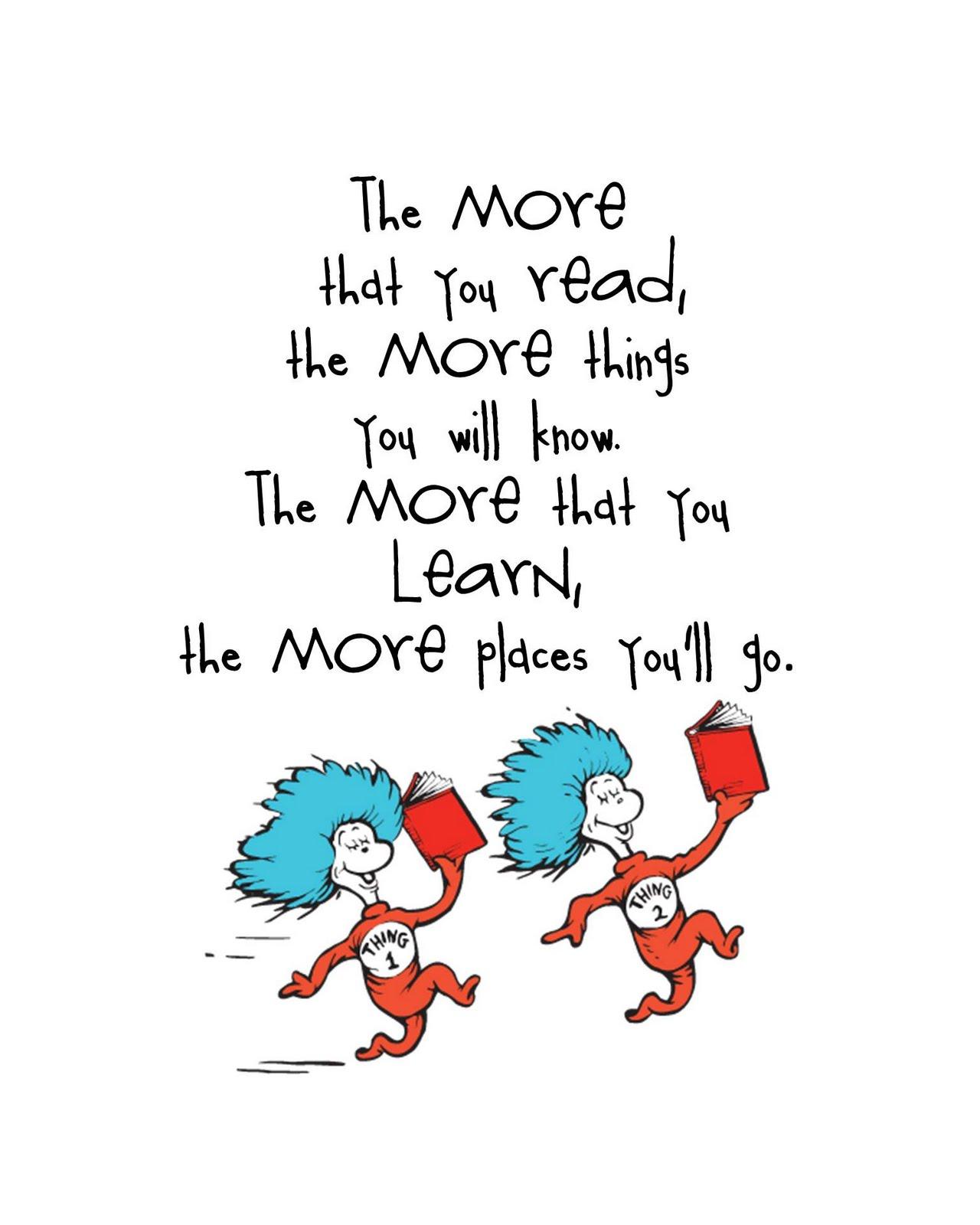 Seuss Quotes.