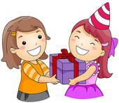 Gift exchange clipart.