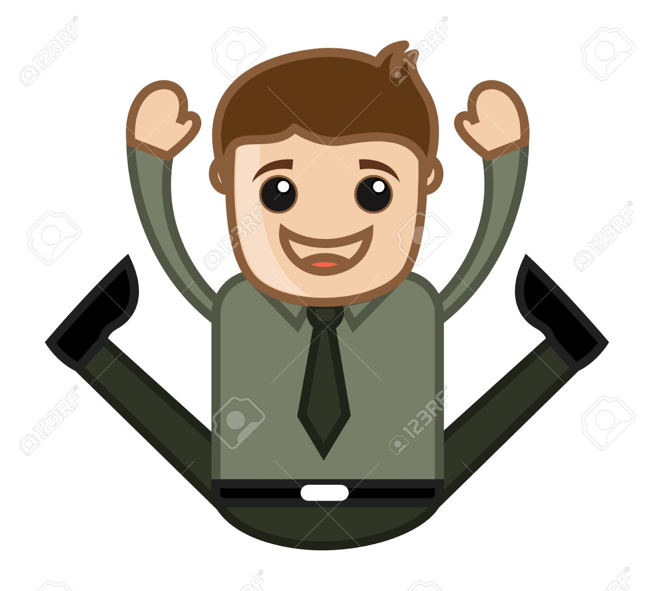 Excited People Jumping Clipart Clipground