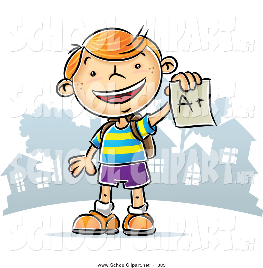 Happy Student Clipart.