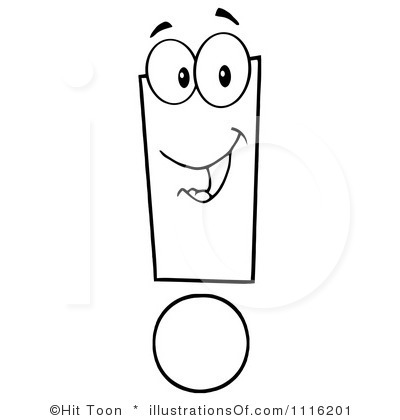 Exclamation Point Clipart.