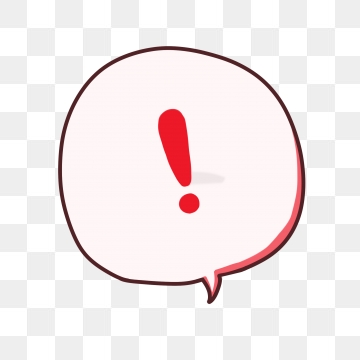 Exclamation Mark PNG Images.