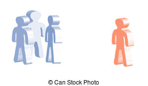 Social exclusion Clip Art and Stock Illustrations. 82 Social.