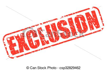 Exclusion Vector Clipart EPS Images. 829 Exclusion clip art vector.