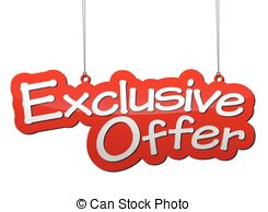 Exclusive offer Stock Illustration Images. 3,910 Exclusive offer.