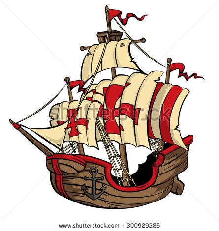 Galleon Stock Images, Royalty.