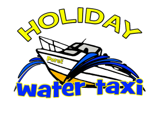 "Water Taxi ""Holiday""."