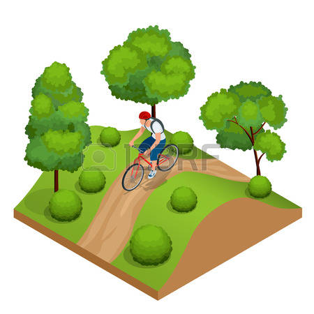 300 Bicycle Path Sign Stock Vector Illustration And Royalty Free.