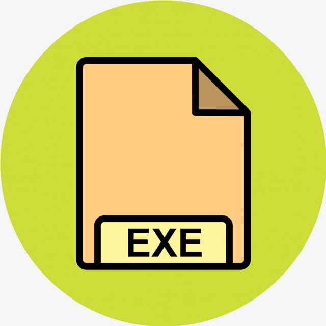 Vector Exe Icon, File, Format, File Format PNG and Vector with.