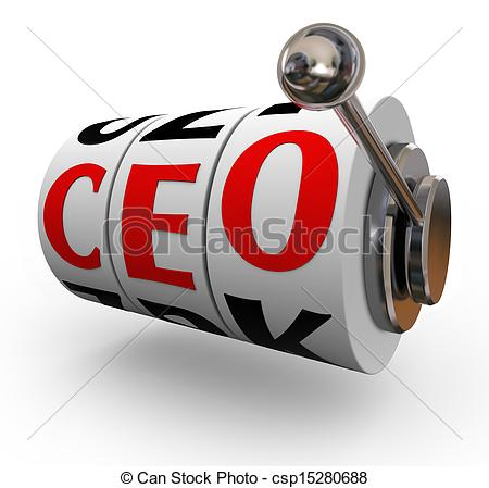 Pictures of CEO Chief Executive Officer Search Recruitment Slot.