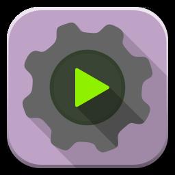 Apps Run Executable Icon.