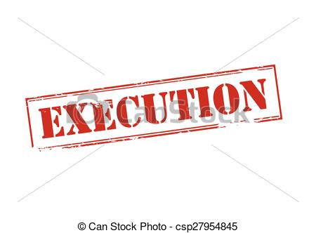 Execution Illustrations and Stock Art. 59,952 Execution.