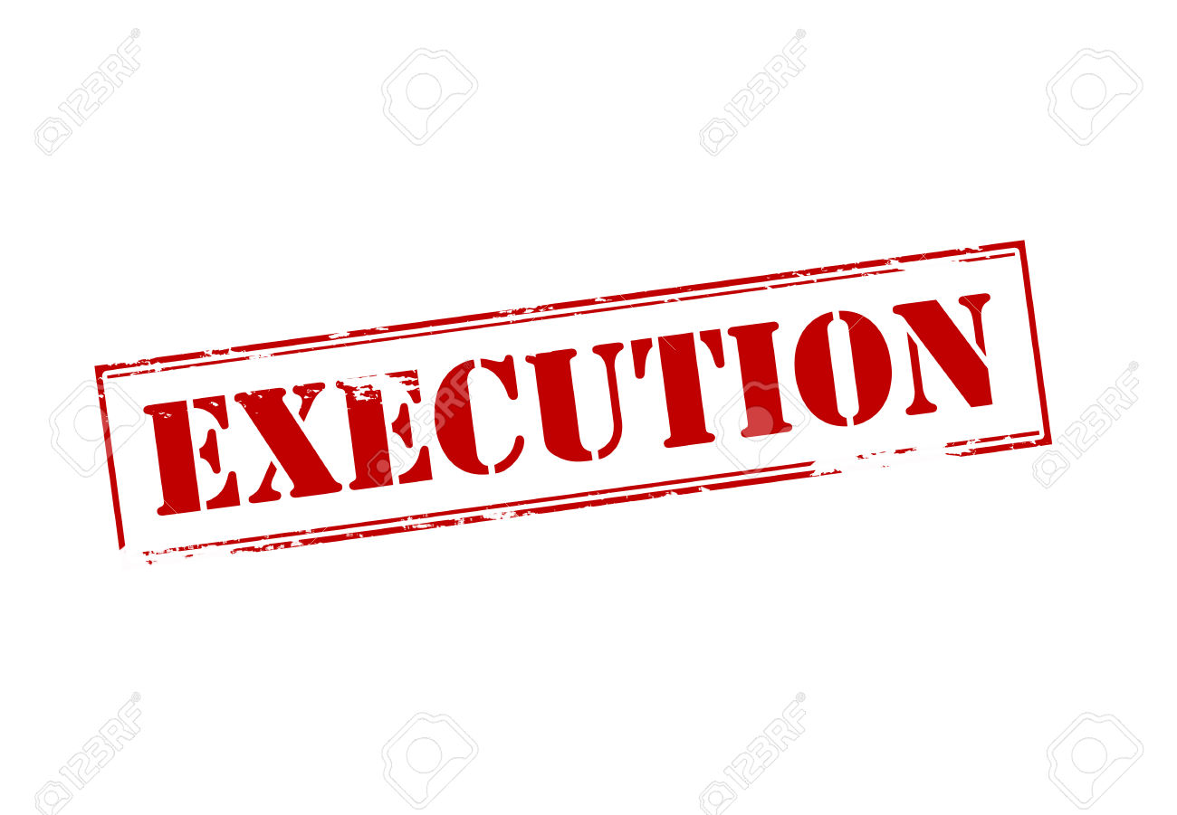 Project execution clipart.